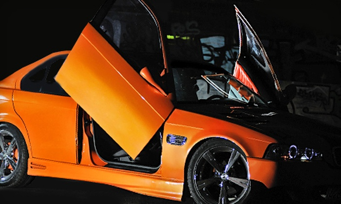 Mad Jack's Monterey - Salinas: $999 for Custom Vertical Lamborghini-Style Doors with Installation at Mad Jack's Monterey in Salinas (Up to $2399 Value)