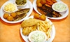 Scales Cafe (OOB) - Kirby Trace Neighborhood Association: $10 for $20 Worth of Catfish, Healthy Smoothies, and More at Scales Café