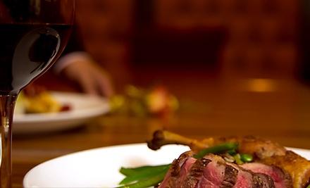 Asian-European Fusion Meal for 2  - Melange Restaurant in Ann Arbor