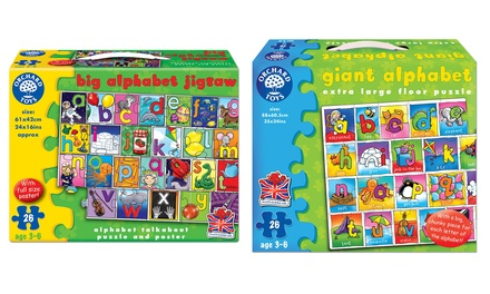 One or Two Orchard Toys Alphabet Jigsaw Puzzles
