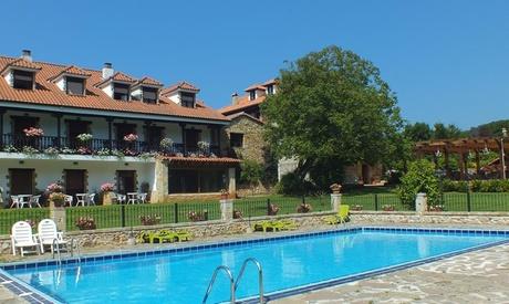 Cantabria: estancia en habitación doble para 2 personas con desayuno, cena y acceso a spa en El Pomar