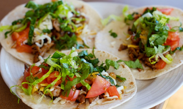 Taco Hut - Multiple Locations: $10 for $20 Worth of Mexican Fare and Drinks at Taco Hut