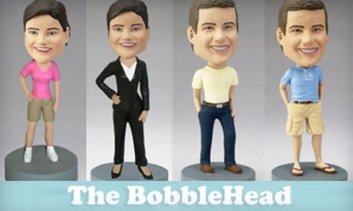"The Bobblehead: $150 for One 7"" Custom Bobblehead from The Bobblehead ($360 Value)"