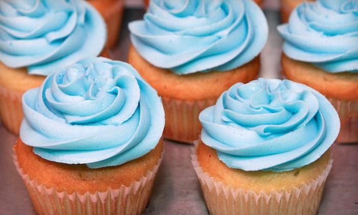 Delish Custom Cakes & Sweets - North Glenora: $5 for Four Cupcakes at Delish Custom Cakes & Sweets ($11 Value)