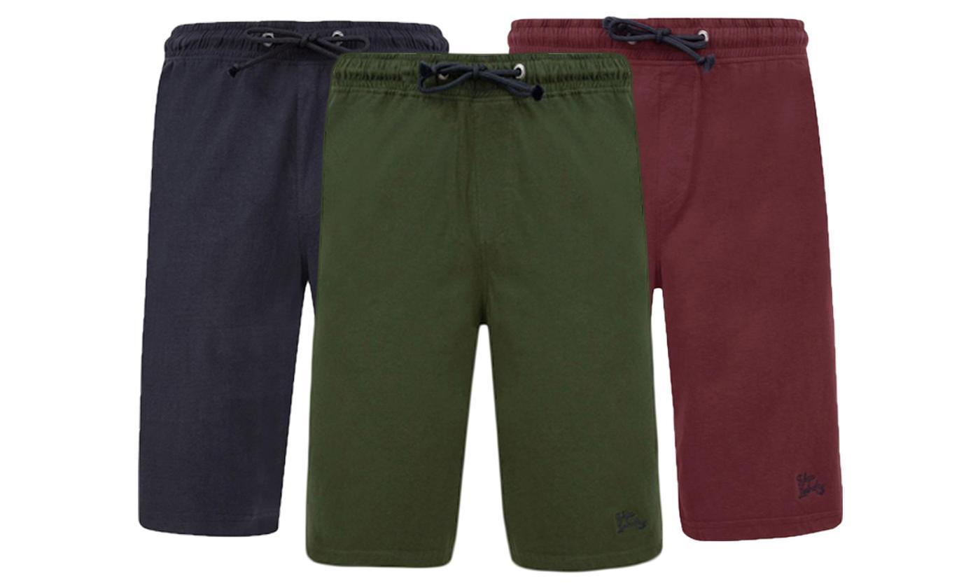 Men's Tokyo Laundry Cotton Jersey Shorts