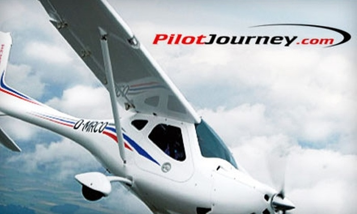 Pilot Journey Flight School: $75 for an Introductory Discovery Flight Package Pilot Journey ($149.95 Value)