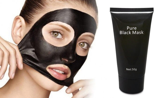 charcoal pull off face mask