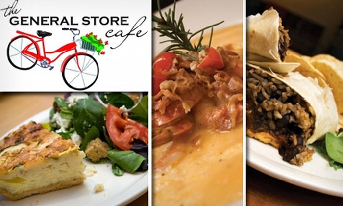 The General Store Café  - Pittsboro: $7 for $20 Worth of Eclectic Eats at The General Store Café