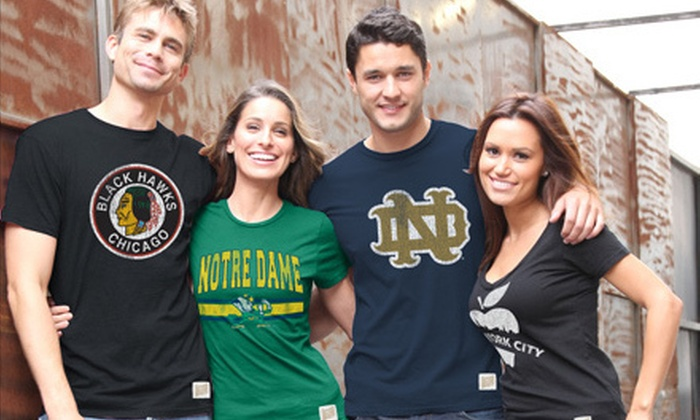 The Original Retro Brand Apparel: $25 for $50 Worth of Vintage-Style Graphic Tees from The Original Retro Brand Apparel