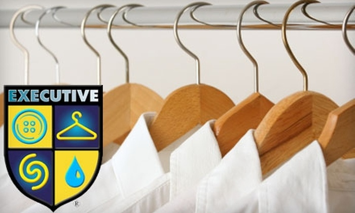Executive Cleaners - Multiple Locations: $10 for $20 Worth of Dry Cleaning at Executive Cleaners