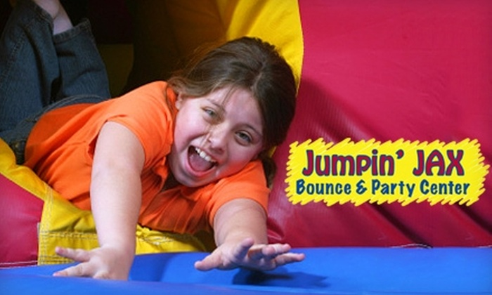 Jumpin' Jax Bounce & Party Center - Papillion Second II: $25 for 10 Open-Bounce Sessions at Jumpin' Jax Bounce & Party Center ($55 Value)