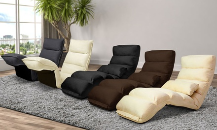 Miraculous Multiangle Adjustable Floor Lounge Chair Threesection 99 Ibusinesslaw Wood Chair Design Ideas Ibusinesslaworg