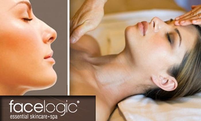 Facelogic Spa - Multiple Locations: $25 for Signature Facial at Facelogic Spa ($59 Value)