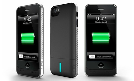 ibattz iPhone 4/4S or 5/5S Apple-Certified Charger Cases for $24.99 or $39.99