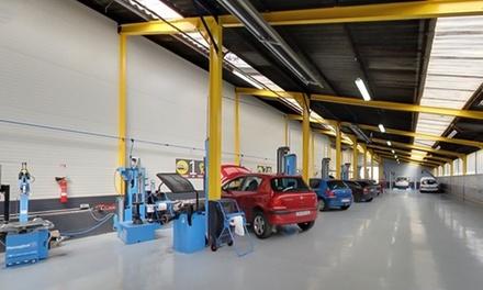 Contr le de la g om trie avec r glage du parall lisme for Garage de la francilienne pontault combault