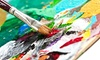 Over Edukated Music & Arts - Over Edukated Music & Arts: Painting Class for One, Two, or Four at Over Edukated Music & Arts (Up to 51% Off)