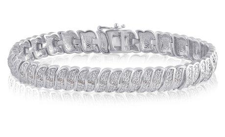 1/4 CTTW Diamond Bracelet by Brilliant Diamond