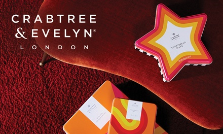 $5 Online or InStore Credit to Spend on Beauty Products + FREE SHIPPING at Crabtree & Evelyn Min Spend $89