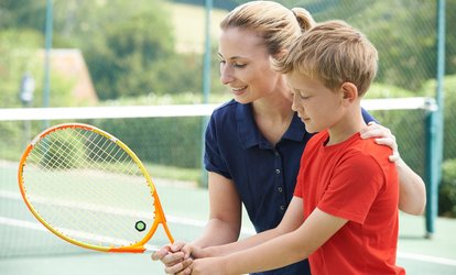 Three Tennis Lessons: Two Children (AED 399) or Two Adults (AED 549)