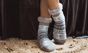 Muk Luks Women's Fluffy Cabin Socks (1-Pair)