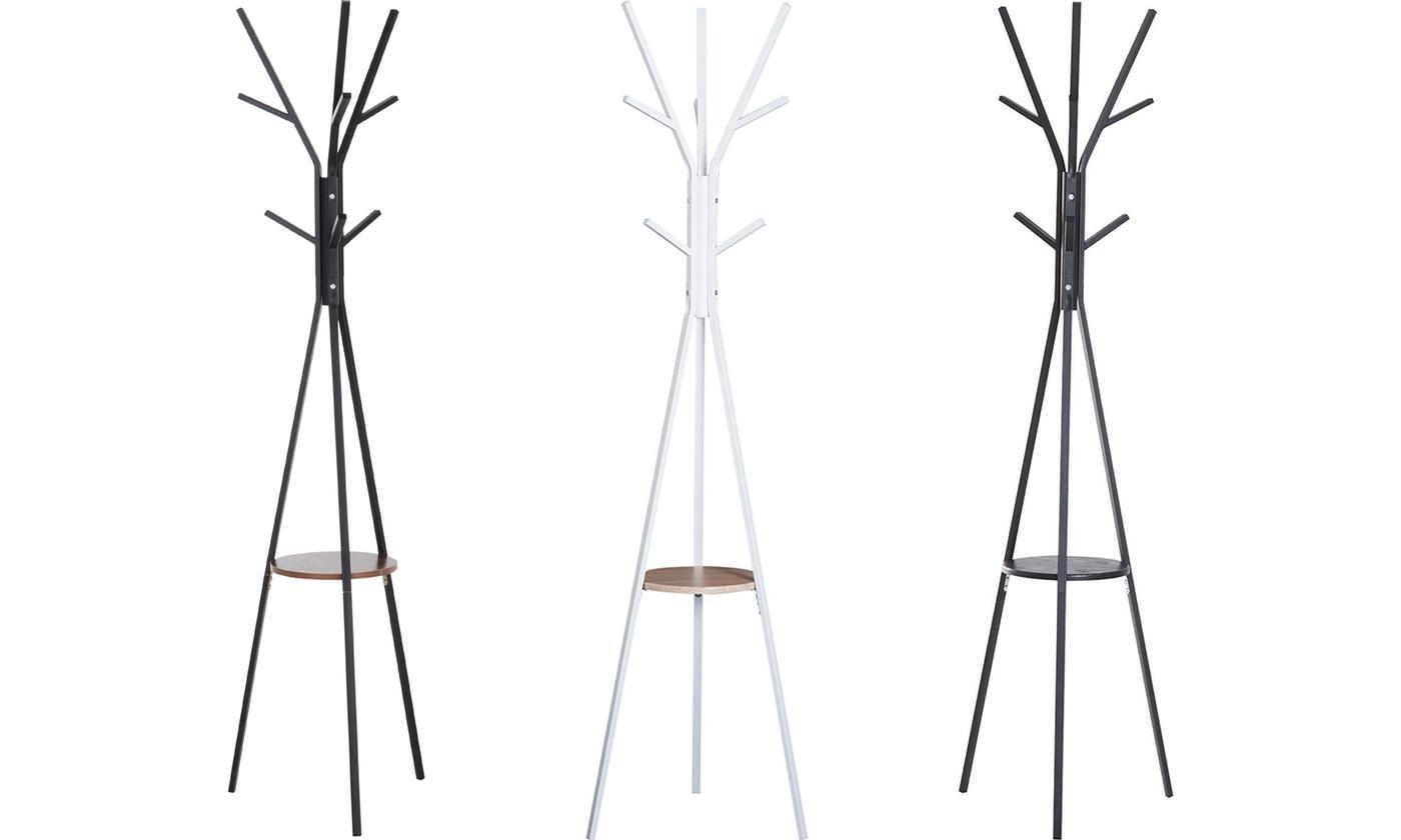 Free-Standing Metal Coat Rack