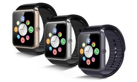 BAS-TeK GT08 Bluetooth Smartwatch in Schwarz, Gold oder Silber inkl. Versand (Stuttgart)