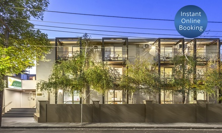 St Kilda: Up to ThreeNight Stay for Two with Parking, DVD Hire, WiFi and Late CheckOut at 4* Quest St Kilda Bayside
