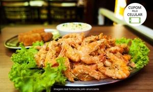 Tempero do Mar: Tempero do Mar – Tiquatira: festival de camarão à vontade para 1, 2 ou 4 pessoas