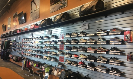 $25 for $50 Toward Footwear at First To The Finish