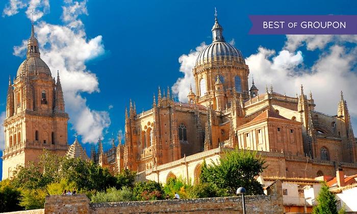 Puente Romano de Salamanca - Hotel Puente Romano De Salamanca: Salamanca: 1, 2 o 3 noches para 2 con desayuno buffet, detalle y late check-out en Hotel Puente Romano 4*