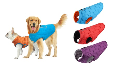 for Reversible Water resistant Dog Winter Jacket Don't Pay up to $24