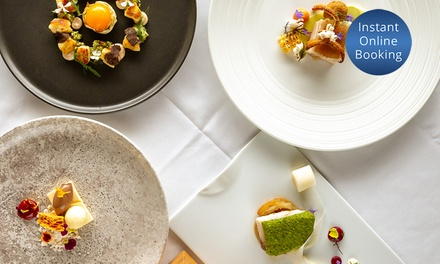 9-Course French Degustation with Glass of Wine Each for 2 ($155) or 4 People ($305) at Petite Mort (Up to $512 Value)