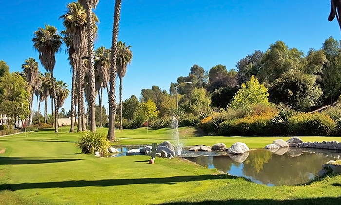 Golfer's Paradise - Fullerton: Golf-Practice Package for 2 or 4 with Putting-Course Round, Range Balls and Wings at Golfer's Paradise (57% Off)