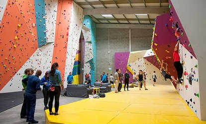 image for Adult Guided Climbing Session for Up to Four at The Dublin Climbing Centre (Up to 70% Off)