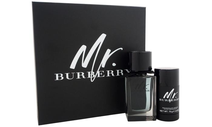 Burberry Set For Men 2 Piece Groupon Goods