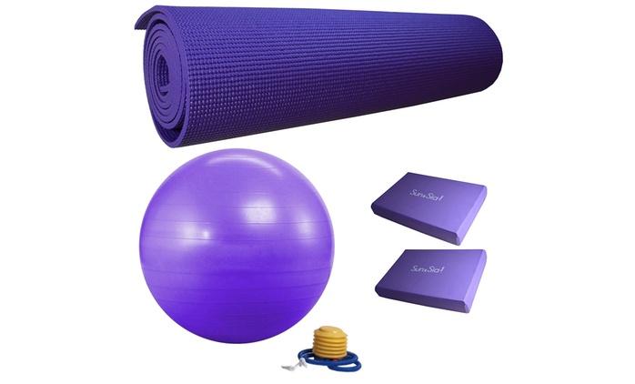 Accessoires de yoga et fitness, coloris au choix à 49,90 € (59% de réduction)