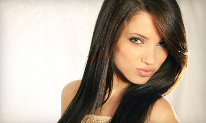 Sanat Hair Salon - New York: Keratin Treatment with Optional Women's Haircut at Sanat Hair Salon (Up to 61% Off)