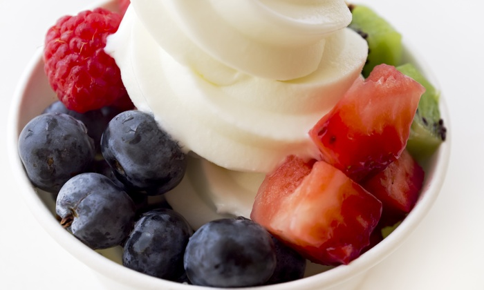 Beachside Fro-Yo - Imperial Beach: Two Frozen Yogurt with Toppings at Beachside Fro-Yo (40% Off)
