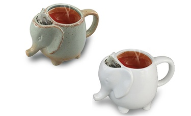 Ceramic Elephant Tea Mug