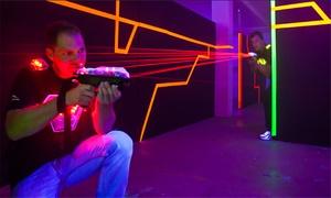 Laserzapp im Pandaland Berlin: 30 od. 60 Min. Laser Tag Game für 2, 4 oder 6 Pers. inkl. Getränk bei Laserzapp im Pandaland Berlin (bis zu 44% sparen*)