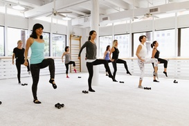 73% Off Fitness Classes at The Bar Method at The Bar Method, plus 6.0% Cash Back from Ebates.