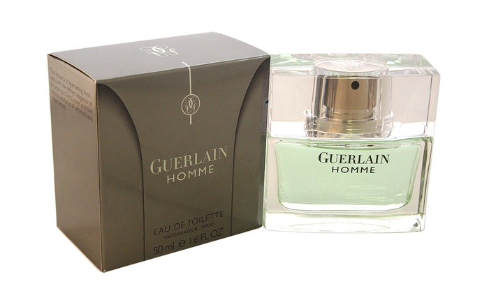 guerlain homme eau de toilette groupon goods. Black Bedroom Furniture Sets. Home Design Ideas
