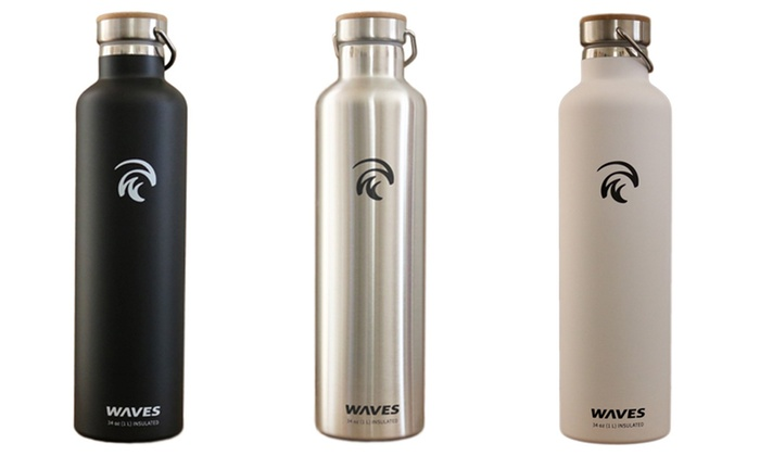 Vacuum-Insulated Camping Bottles