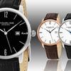 Stührling Original Men's Genuine Leather Strap Watch