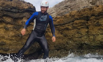 Three-Hour Coasteering Experience for Up to Four at Jurassic Watersports (Up to 55% Off)