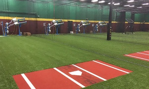 D-BAT Johns Creek: Batting Cages at D-BAT Johns Creek (Up to 40% Off). Two Options Available.