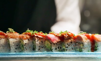 image for Sushi Lunch, Sushi Dinner, or Drinks for Two or More at Sushi Hai (32% Off)