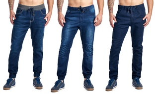 Mens Denim Joggers