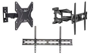 "Emerald Full Motion and Tilt Mounts for 17""–75"" TVs"