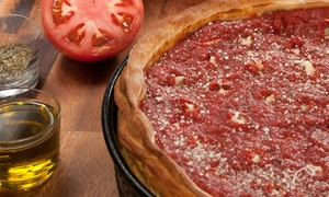 Nancy's Pizza: $25 or $40 Worth of Pizza at Nancy's Pizza (Up to 40% Off)